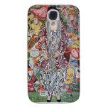 Portrait of Frederika Maria Beer by Gustav Klimt Samsung Galaxy S4 Cover