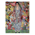 Portrait of Frederika Maria Beer by Gustav Klimt Postcard