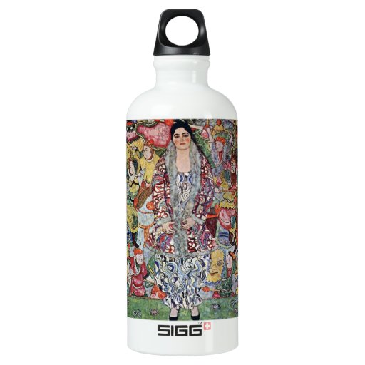Portrait of Frederika Maria Beer by Gustav Klimt SIGG Traveler 0.6L Water Bottle