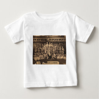 Portrait of Freemasons of the Anglo-Saxon Lodge Baby T-Shirt