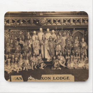 Portrait of Freemasons of the Anglo-Saxon Lodge Mouse Pad