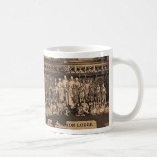Portrait of Freemasons of the Anglo-Saxon Lodge Mugs