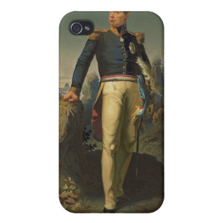 Portrait of French General Marquis de Lafayette Cases For iPhone 4