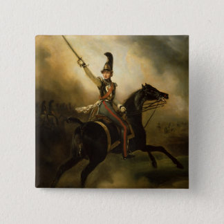 Portrait of Friedrich Heinrich  1830 Pinback Button