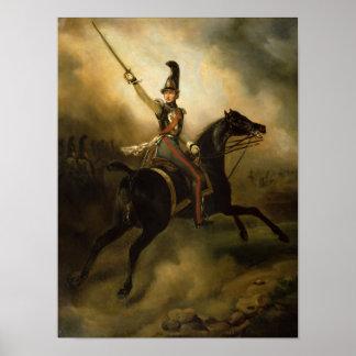 Portrait of Friedrich Heinrich  1830 Poster