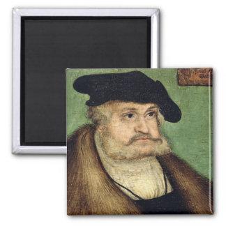 Portrait of Friedrich III  Elector of Saxony Refrigerator Magnets