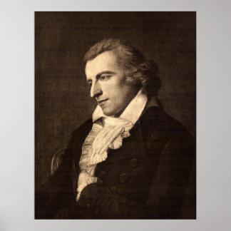 Portrait of Friedrich von Schiller Print