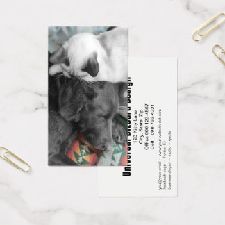 Portrait Of Friendship Photograph Business Card