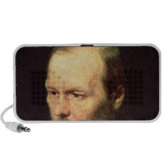 Portrait of Fyodor Dostoyevsky  1872 iPod Speaker