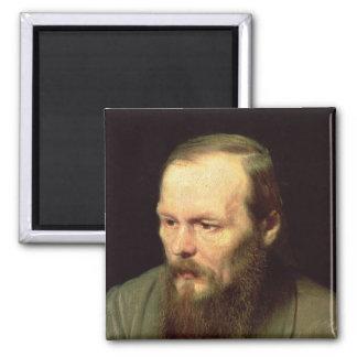 Portrait of Fyodor Dostoyevsky  1872 Magnet