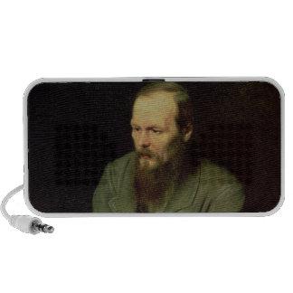 Portrait of Fyodor Dostoyevsky  1872 Mini Speaker