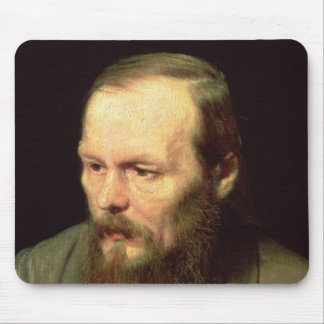 Portrait of Fyodor Dostoyevsky  1872 Mouse Pad
