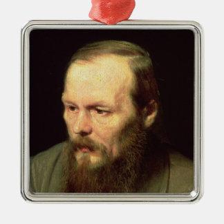 Portrait of Fyodor Dostoyevsky  1872 Christmas Tree Ornament
