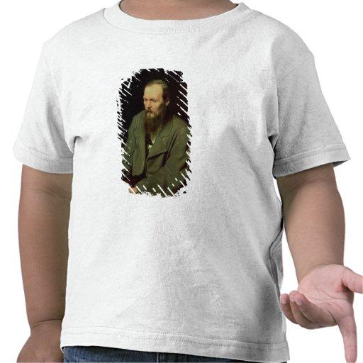 Portrait of Fyodor Dostoyevsky  1872 T-shirts