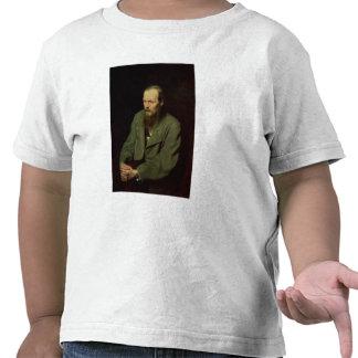 Portrait of Fyodor Dostoyevsky  1872 Tee Shirt