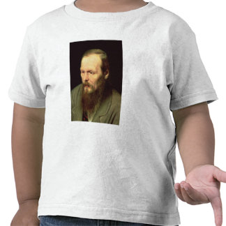 Portrait of Fyodor Dostoyevsky  1872 Tshirt
