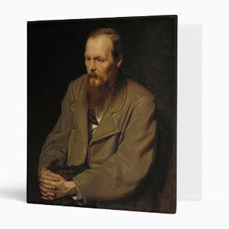 Portrait of Fyodor Dostoyevsky by Vasily Perov Binder