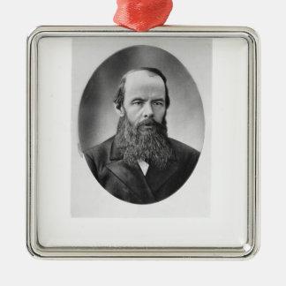 Portrait of Fyodor Mikhailovich Dostoyevsky Ornament