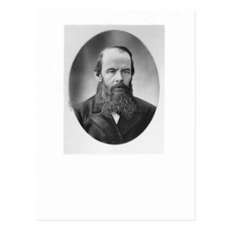 Portrait of Fyodor Mikhailovich Dostoyevsky Postcard
