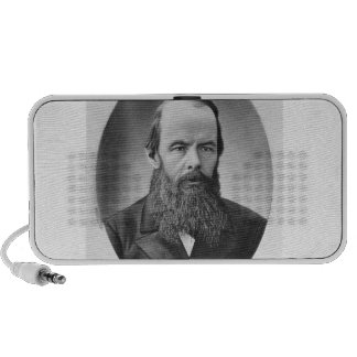 Portrait of Fyodor Mikhailovich Dostoyevsky Travelling Speakers