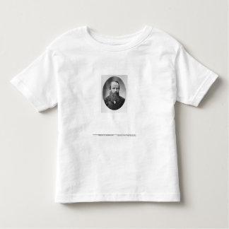 Portrait of Fyodor Mikhailovich Dostoyevsky T Shirts