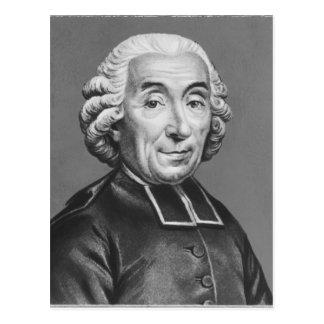 Portrait of Gabriel Bonnot de Mably Postcard