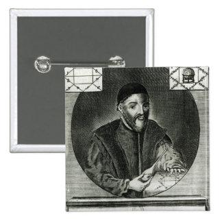 Portrait of Gabriel Fallopius Pinback Button