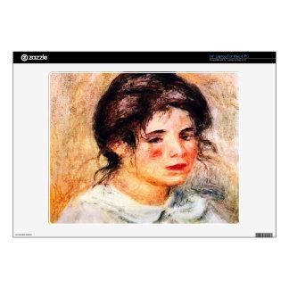"""Portrait of Gabrielle by Pierre Renoir Decal For 14"""" Laptop"""