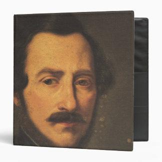 Portrait of Gaetano Donizetti 3 Ring Binder