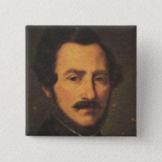 Portrait of Gaetano Donizetti Button