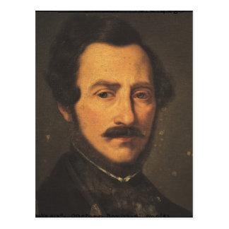 Portrait of Gaetano Donizetti Postcard