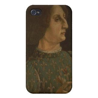 Portrait of Galeazzo Mario Sforza (1444-76) c.1471 Case For iPhone 4