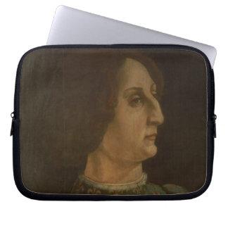 Portrait of Galeazzo Mario Sforza (1444-76) c.1471 Computer Sleeve