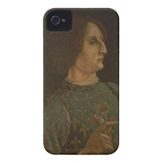 Portrait of Galeazzo Mario Sforza (1444-76) c.1471 iPhone 4 Case
