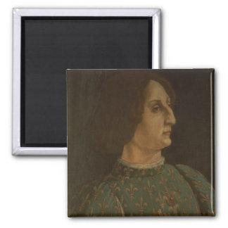 Portrait of Galeazzo Mario Sforza (1444-76) c.1471 Magnet
