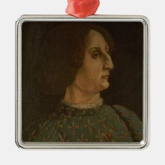 Portrait of Galeazzo Mario Sforza (1444-76) c.1471 Metal Ornament