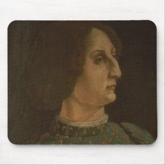 Portrait of Galeazzo Mario Sforza (1444-76) c.1471 Mouse Pad