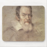 Portrait of Galileo Galilei  Astronomer Mouse Pads