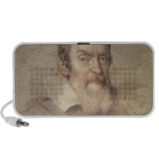 Portrait of Galileo Galilei  Astronomer iPod Speakers