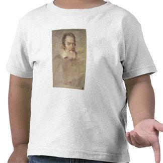 Portrait of Galileo Galilei  Astronomer Tshirt