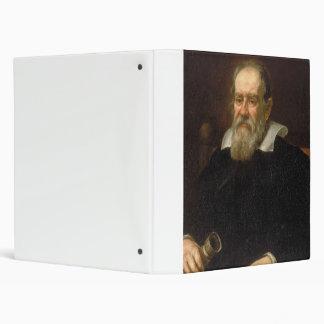 Portrait of Galileo Galilei by Justus Sustermans 3 Ring Binder