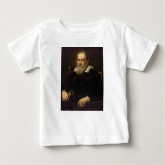 Portrait of Galileo Galilei by Justus Sustermans Baby T-Shirt