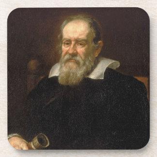 Portrait of Galileo Galilei by Justus Sustermans Beverage Coaster