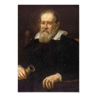 Portrait of Galileo Galilei by Justus Sustermans Card