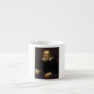 Portrait of Galileo Galilei by Justus Sustermans Espresso Cup