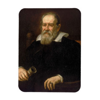 Portrait of Galileo Galilei by Justus Sustermans Magnet
