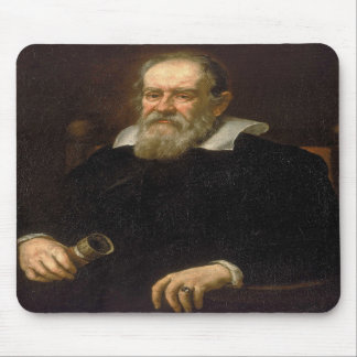 Portrait of Galileo Galilei by Justus Sustermans Mousepad