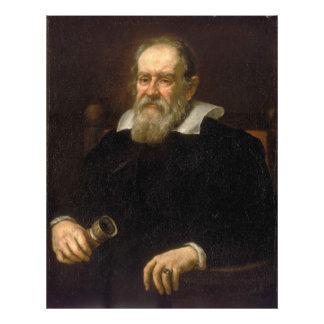 Portrait of Galileo Galilei by Justus Sustermans Photo Print
