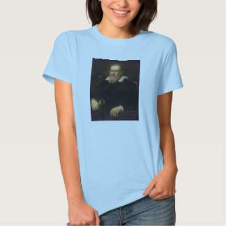 Portrait of Galileo Galilei by Justus Sustermans T-shirt