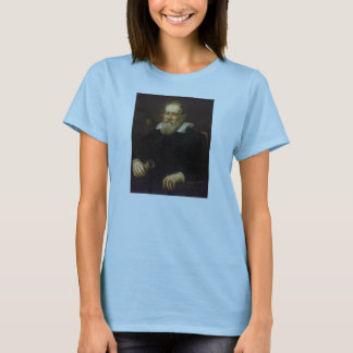 Portrait of Galileo Galilei by Justus Sustermans T-Shirt